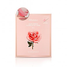 [JM Solution] Glow Luminous Flower Lift-Up V mascarilla Rose 10pcs
