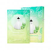 [Merbliss]Lagrimas de feclidad boda Aloe y miel mascarilla para calmar la piel 5hojas