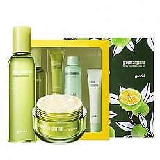 [Goodal]  Green Tangerine Honey Moist Skin Care Set