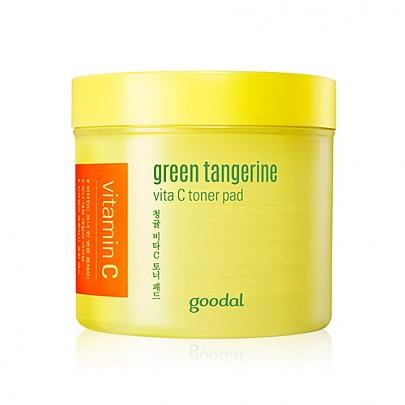 [Goodal] Green Tangerine Vita C Toner Pad