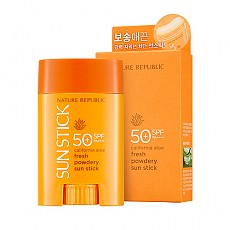 [Nature Republic] California Aloe Fresh Powdery Sun Stick SPF50+ PA++++