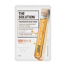 [The Face Shop] The Solution Nourishing Face mascarilla