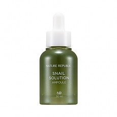 [Nature Republic] Snail Solution Ampoule 30ml
