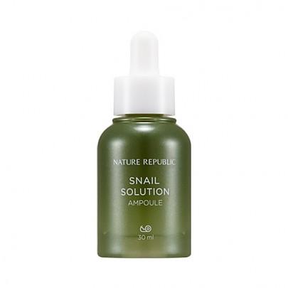 [Nature Republic] Snail Solution Ampoule 30ml