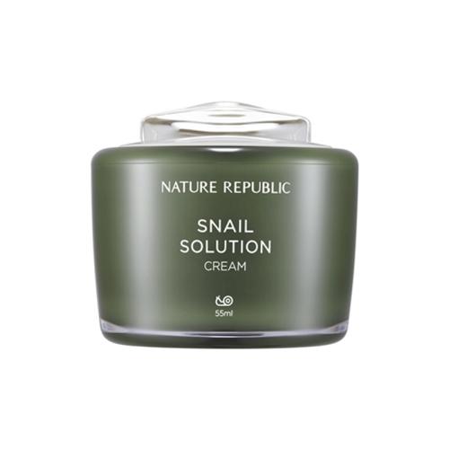 [Nature Republic] Snail Solution Cream 55ml