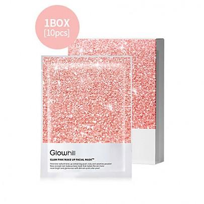 [Glowhill] Glam Pink Make Up Facial mascarilla 10hojas