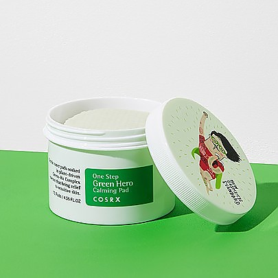 [COSRX] One Step Green Hero Calming Pad 70ea