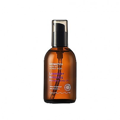 [Aromatica] Lavender Relaxing Massage & Aceite corporal 100ml