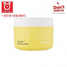 [Aromatica] *Time Deal*  LIVELY Vita Glow™ Mascarilla para la noche 100g