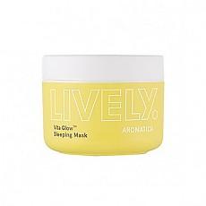 [Aromatica] LIVELY Vita Glow™ Mascarilla para la noche 100g