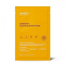 [Aromatica] Calendula Soothing Relief Mascarilla 5 hojas