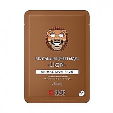 [SNP] Animal Lion Revitalizing Mascarilla 1ea