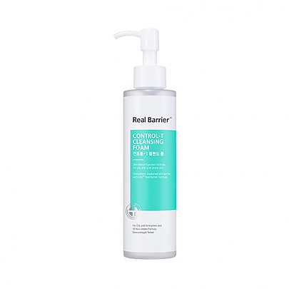 [Real Barrier] Control-T Cleansing Foam 180ml