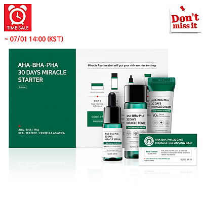 [SOME BY MI] *Time Deal*  AHA.BHA.PHA 30 Days Miracle Starter Kit
