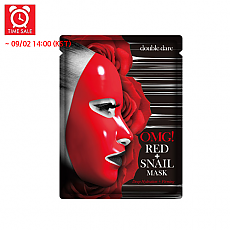 [Double dare (OMG)] *Time Deal*  OMG! Red+Snail Mask 1hoja