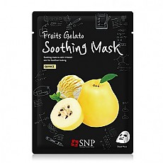 [SNP] Fruits Gelato Soothing Mask 1ea (Quince)