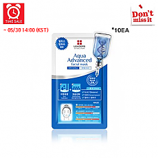[Leaders] *Time Deal*  Leaders EX Solution Aqua Advanced Facial Mascarilla 10hojas