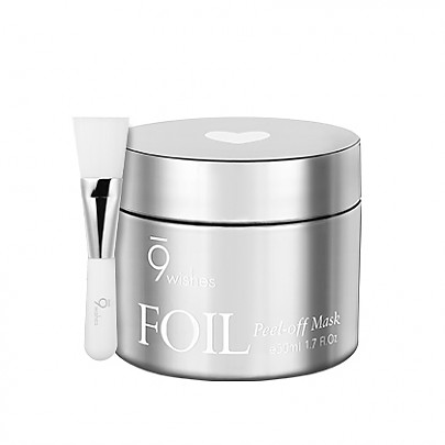 [9wishes] Foil Peel-off Mask Silver 160g