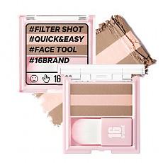 [16 Brand] 16 Filter Shot #Contour Peach