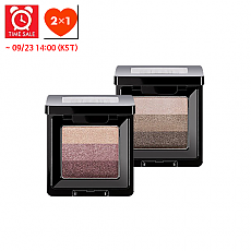 [Missha] *Time Deal*  Triple Shadow 2g #01 (Browny Pink) + #04 (Chocolate Brown)