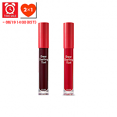 [Etude house] *Time Deal*  Dear Darling Water Gel tinte labial #PK002 + #OR202