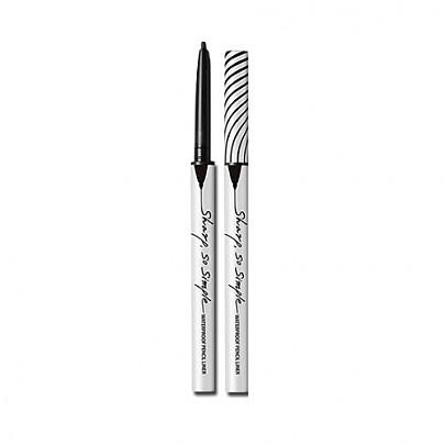 [CLIO] Sharp, So Simple Waterproof Pencil Liner #01 BLACK