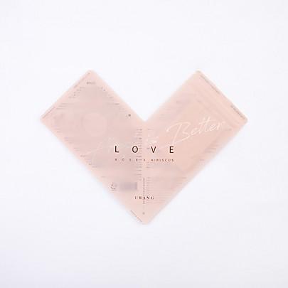 [URANG] Love Rose x Hibiscus Mask 5EA