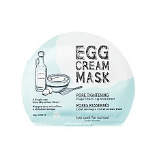 [Too Cool For School] Egg Cream Mask Set (Pore Tightening) 5ea