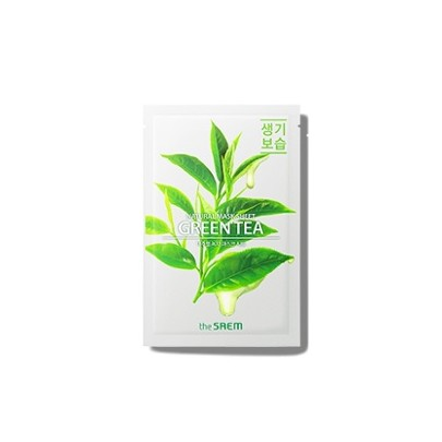 [the SAEM] Natural Green Tea Mask Sheet