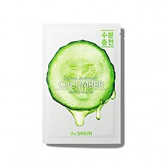 [the SAEM] Natural Cucumber Mask Sheet
