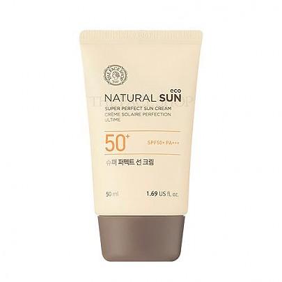 [THE FACE SHOP] Natural Sun Eco Power Long Lasting Sun Block SPF45/PA+++ 50ml