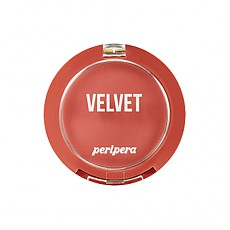 [Peripera] Pure Blushed Velvet Cheek 2018 Fall Collection Pink-Moment #08 (Burnt Brick Orange)