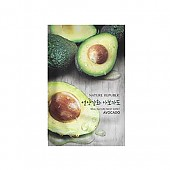 [Nature Republic] Real Nature Mask Sheet/ Avocado 23ml