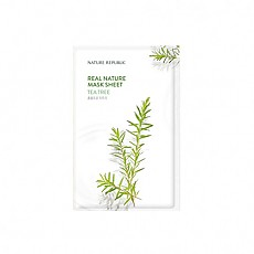 [Nature Republic] Real Nature Mask Sheet/ Tea tree 23ml