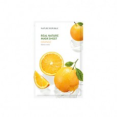 [Nature Republic] Real Nature Mask Sheet/ Orange 23ml