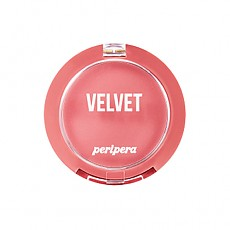 [Peripera] Pure Blushed Velvet Cheek 2018 Fall Collection Pink-Moment #07 (Beige Pink)