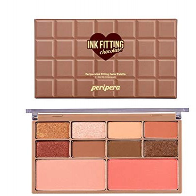 [Peripera] Ink Fitting Color Pallete #01 (Chocolate)