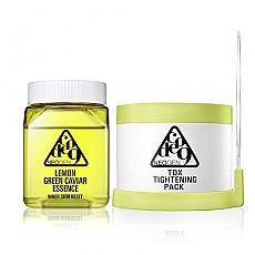 [Neogen] Code9 Lemon Green Caviar Essence&Tox Tightening Pack Kit
