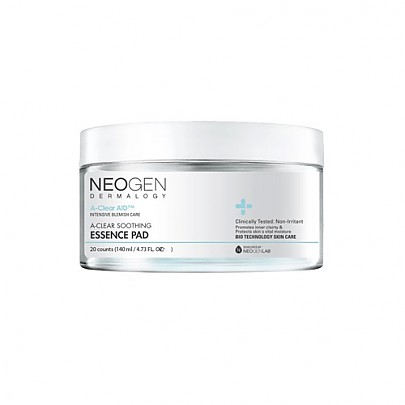 [Neogen] DERMALOGY A-CLEAR Aid Soothing Essence Pad 140ml (20EA)