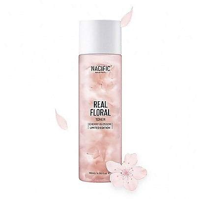 [Nacific] Real Floral Toner Cherry Blossom 180ml