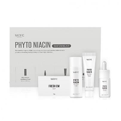[Nacific] Phyto Niacin Whitening Kit(Soap 30g+Toner 30ml+Essence 10ml+Cream 20ml)