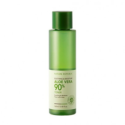 [Nature Republic] Soothing & Moisture Aloe Vera 90% Toner 160ml