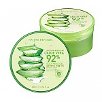[Nature Republic] Aloe Vera Gel de suavizar , 92% Suavizar y hidratar, 300ml