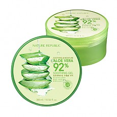[Nature Republic] Aloe Vera Soothing Gel, 92% Soothing and Moisture, 300ml