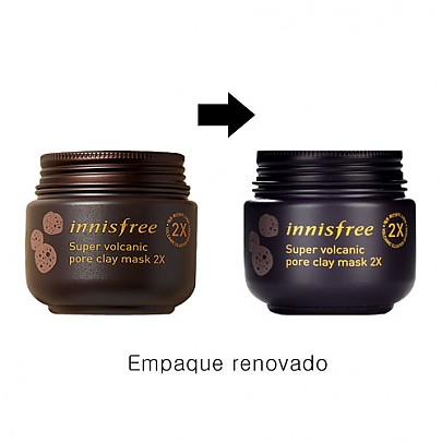 [Innisfree] Super Volcanic Pore Clay mascarilla 100ml
