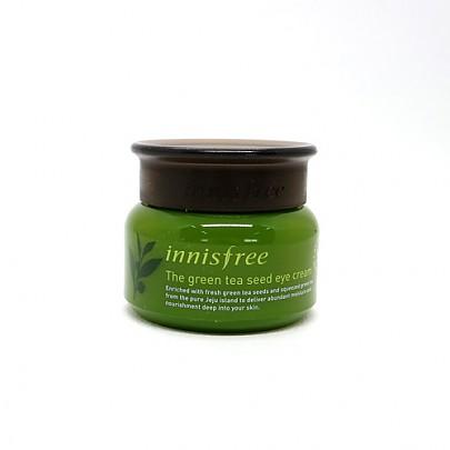 [Innisfree] Crema de semilla de té verde para el contorno de ojos 30ml