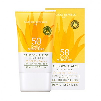 [Nature Republic] Califonia Aloe Daily Moisture Sunblock