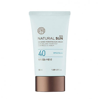 [The face shop] Natural sun eco sebum control moisture Sun 50ml (SPF 40 PA+++)